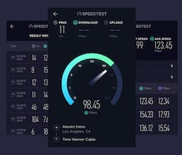 Speedtest by Ookla, for Mac - Take a speedtest from your Mac's Menu