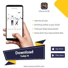 MeasureTalk - Body measurement App - Measure your body to