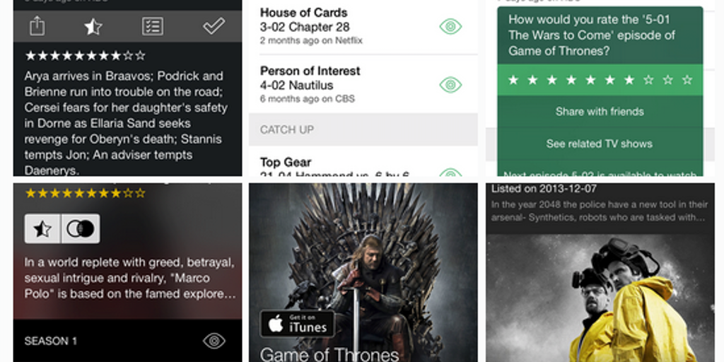 60Hz 4 0 - A TV show tracker and discovery app for iOS | Product Hunt
