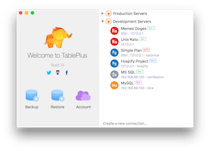 TablePlus - Easily edit database data and structure | Product Hunt
