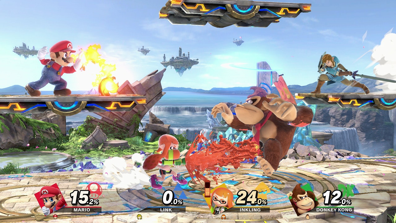 Super Smash Bros. Ultimate - The classic series returns with 77 total fighters