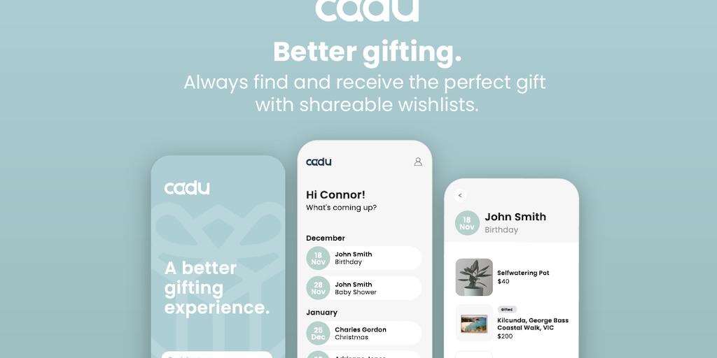 Cadu - Better gifting through shareable wishlists | Product Hunt