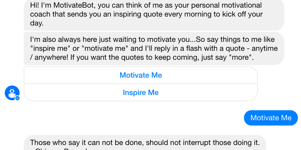 how to reply to you inspire me
