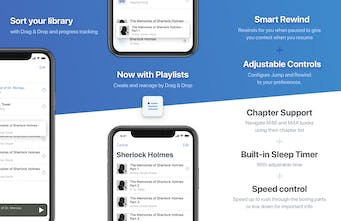 BookPlayer - Play M4B/M4A/MP3 audiobooks on iPhone | Product