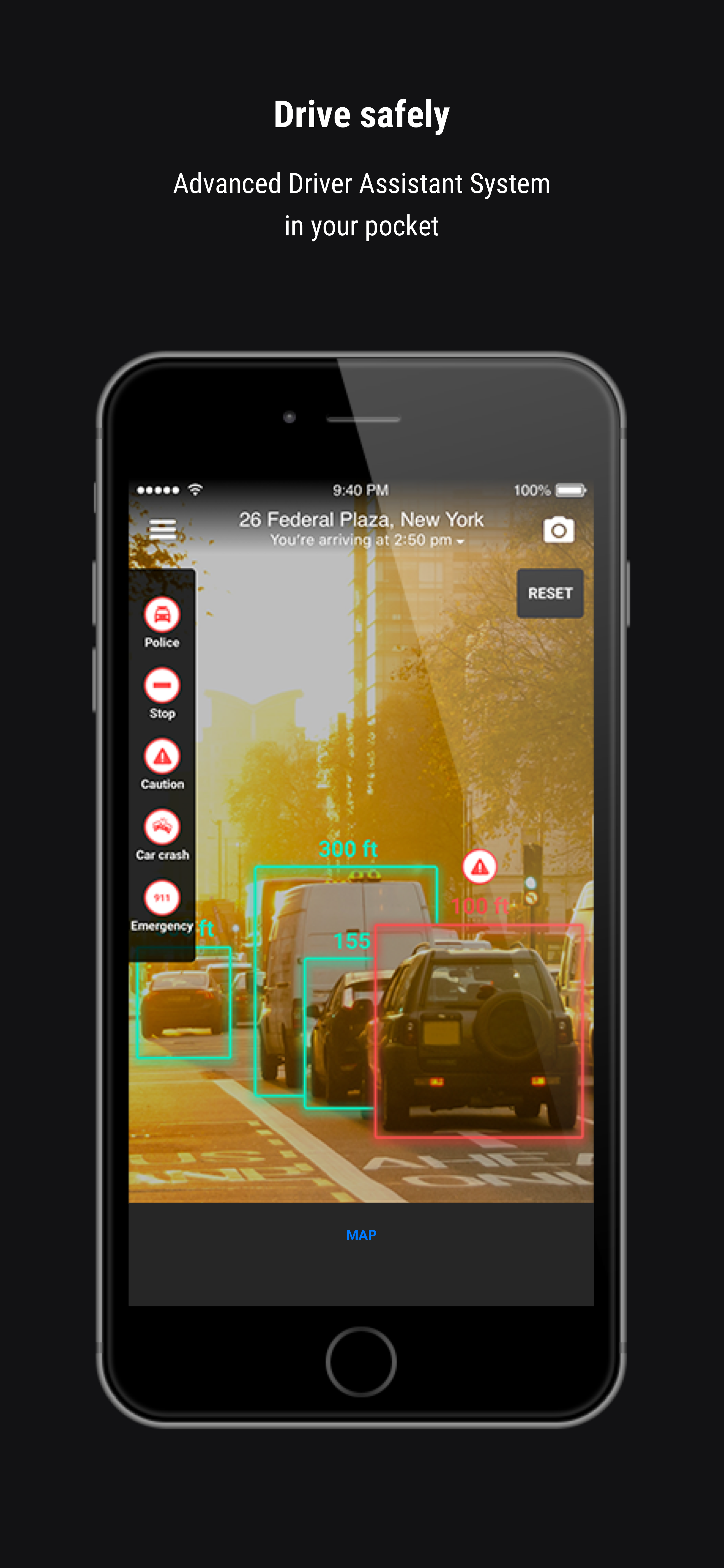 Vision - An AI assistant for safe and informed driving
