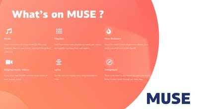 MUSE - Digital music without limits | Product Hunt