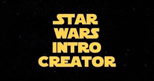 Star Wars İntro Creator ile ilgili görsel sonucu