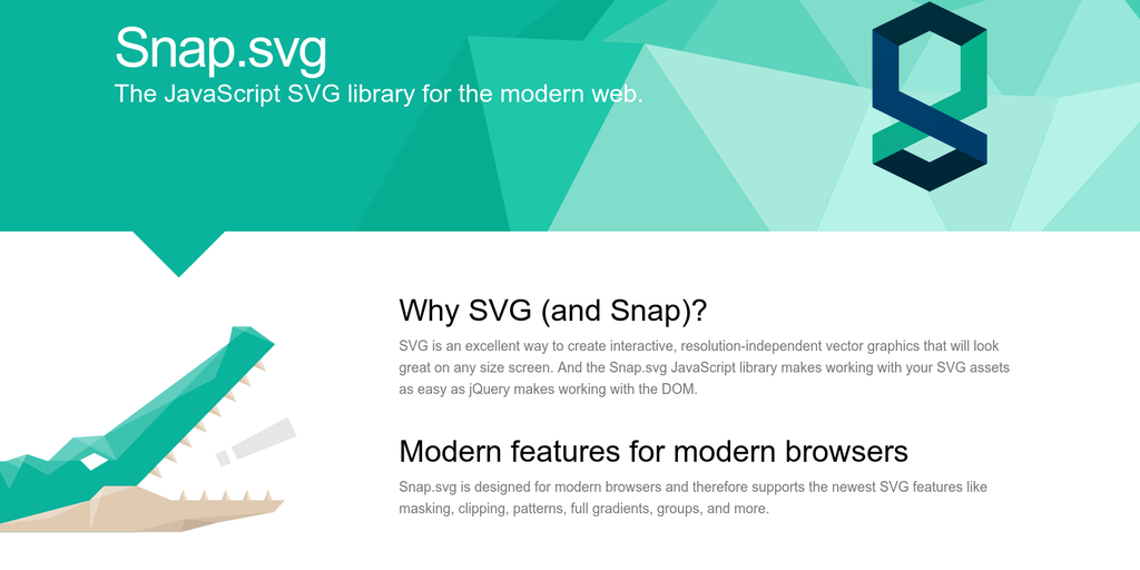 Snap svg - JavaScript SVG library for the modern web