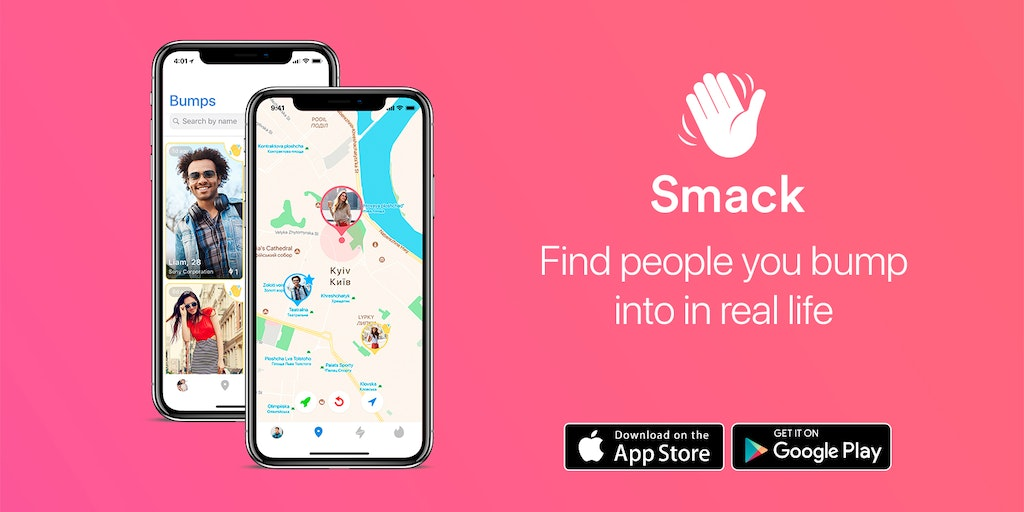 Smack - Find people you bump into in real life | Product Hunt
