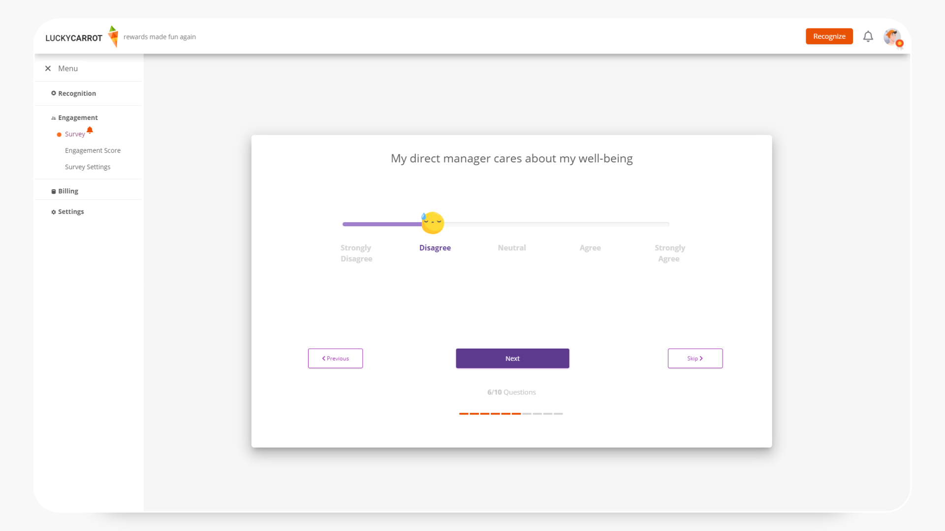 Lucky Carrot Product Hunt Image