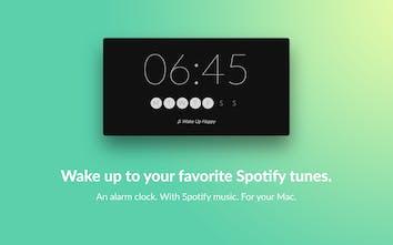 Wakefy - Turn your Mac into a Spotify alarm clock   Product Hunt