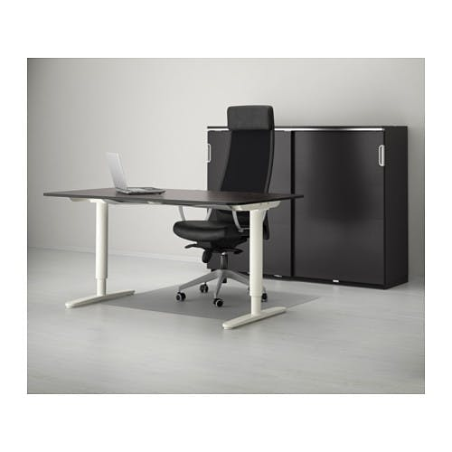 Ikea bekant standing desk product hunt for Ikea motorized standing desk