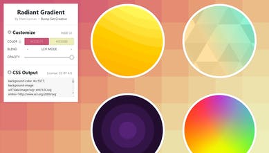 SVG Background Generator - Customize, scalable backgrounds