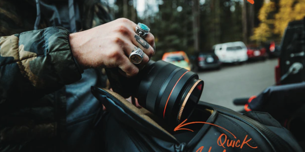 The Camera Pack - A functional camera bag by Peter Mckinnon and Nomatic | Product Hunt