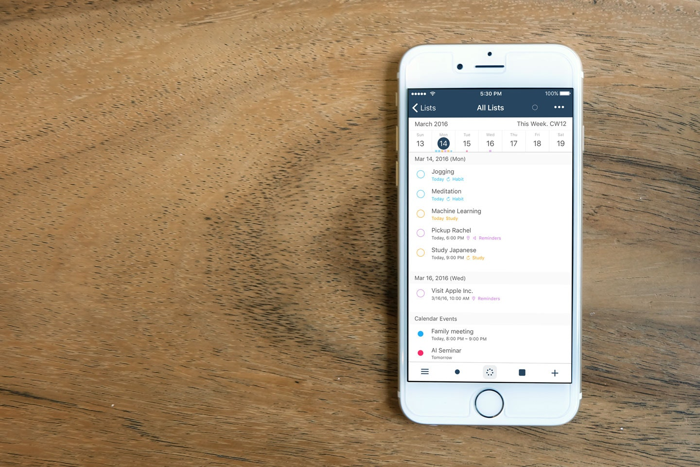 GoodTask 3 - Task manager based on iOS reminders and calendars