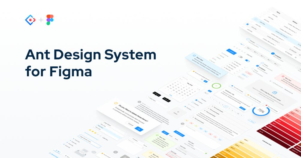 Ant Design System For Figma A Large Library Of 2100 Handcrafted Ui Components Product Hunt