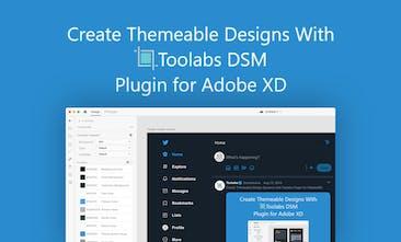 Toolabs DSM Plugin for Adobe XD - Design system manager