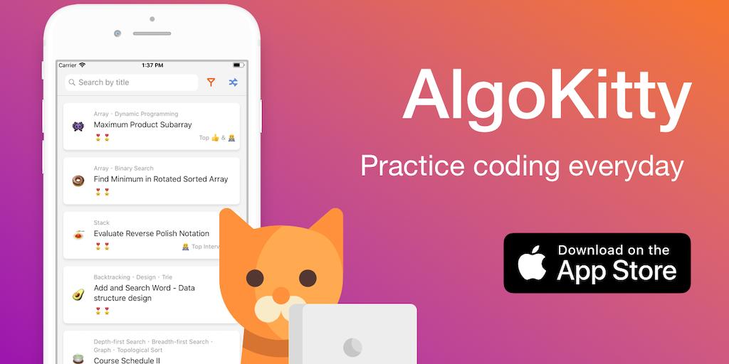 AlgoKitty - Practice coding everyday   Product Hunt