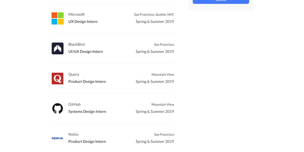 Design Internships By Cofolios The Best Place To Find Design Internships Product Hunt