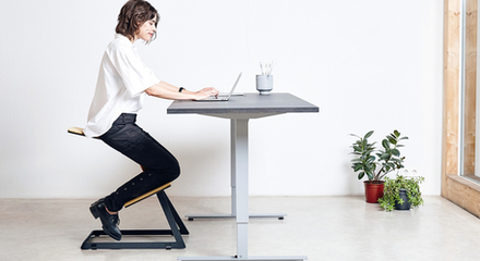 W chair product hunt for Kneeling chair vs standing desk