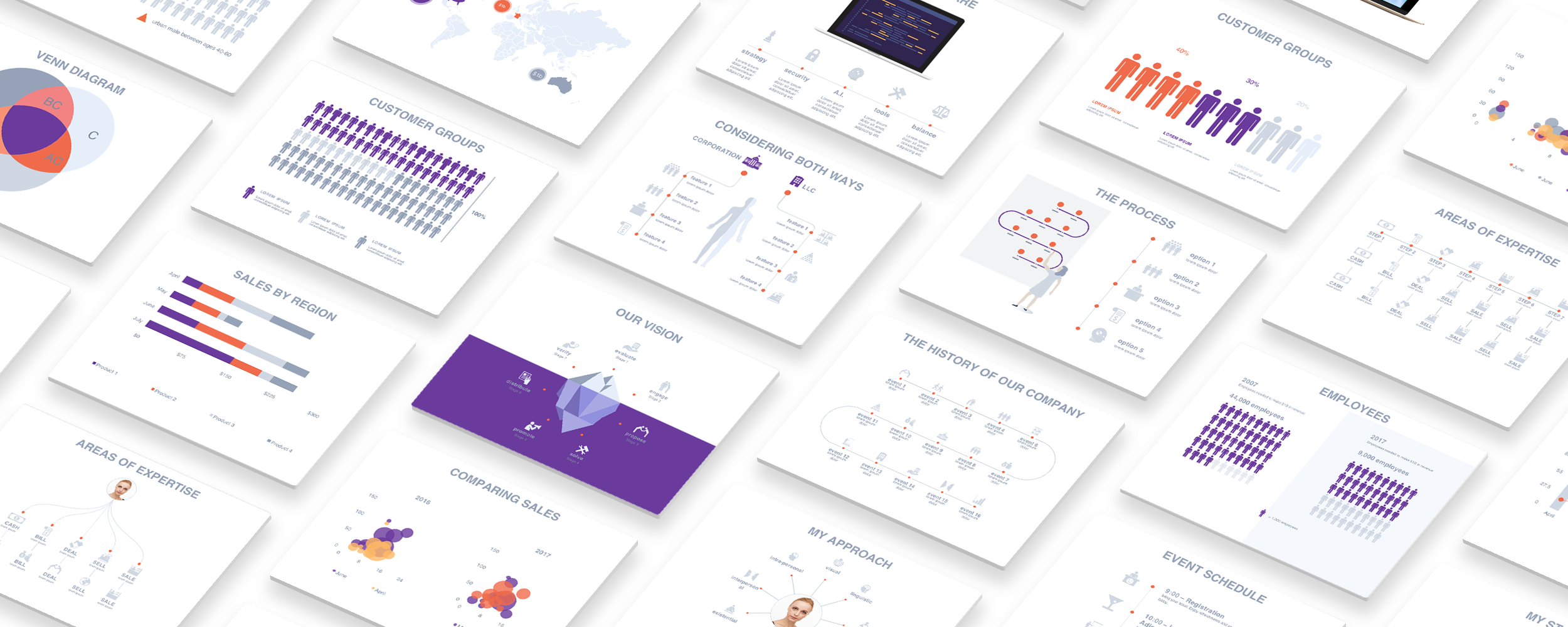 Adioma for Powerpoint - Make beautiful infographic presentations fast