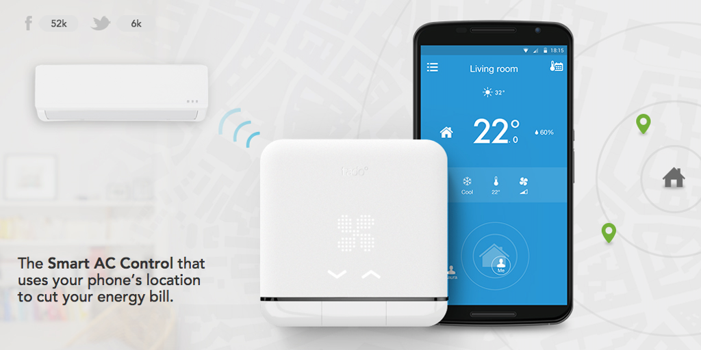 tado Smart AC Control - Control any AC from anywhere with