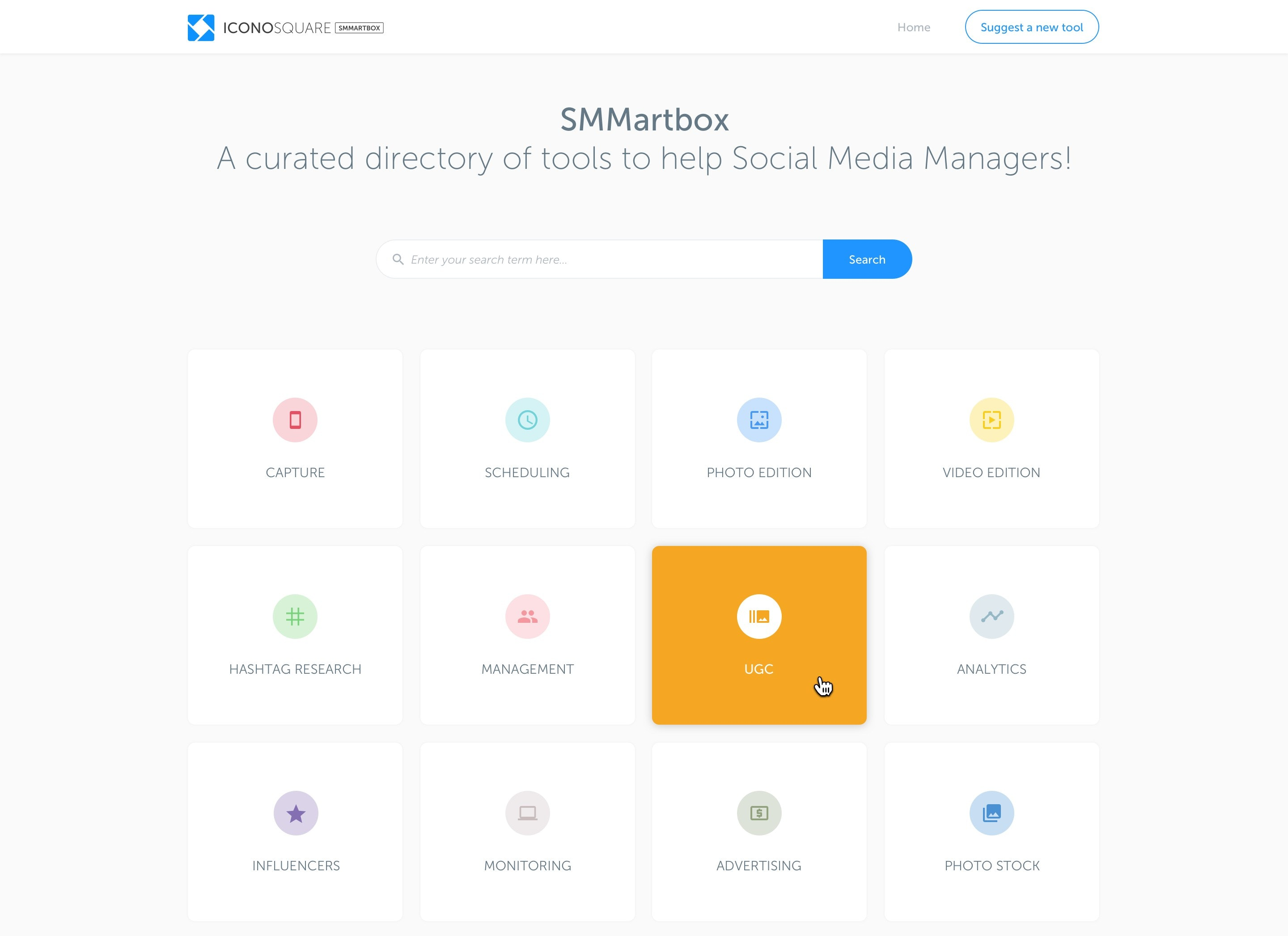SMMartbox by Iconosquare
