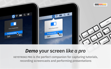 Keystroke Pro - Keypress visualizer for macOS | Product Hunt