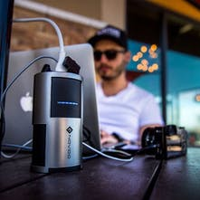 Novoo Portable Power Outlet - Your personal on-the-go power outlet