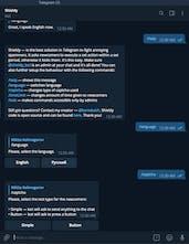 Shieldy - A zero-config Telegram bot that fights spam in