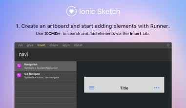 Ionic Sketch 4 - Smart Sketch template for Ionic 4/3   Product Hunt