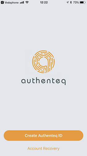 Authenteq - User-owned and controlled blockchain-based online ID