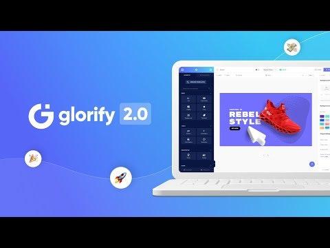 Glorify 2.0 Product Hunt Image