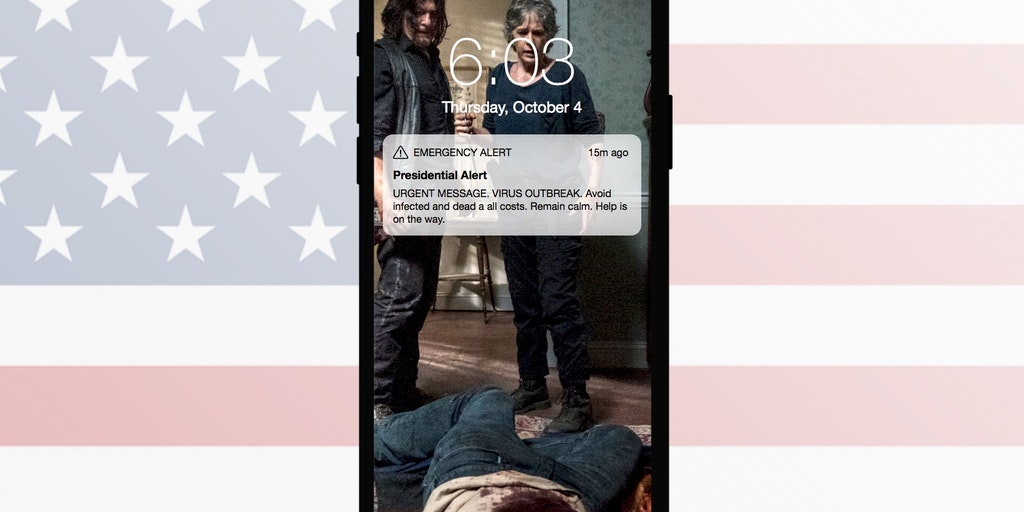PresidentialAlert app - Generate your own custom presidential alerts