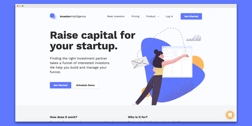Investor Intelligence - Raise capital for your startup | Product Hunt