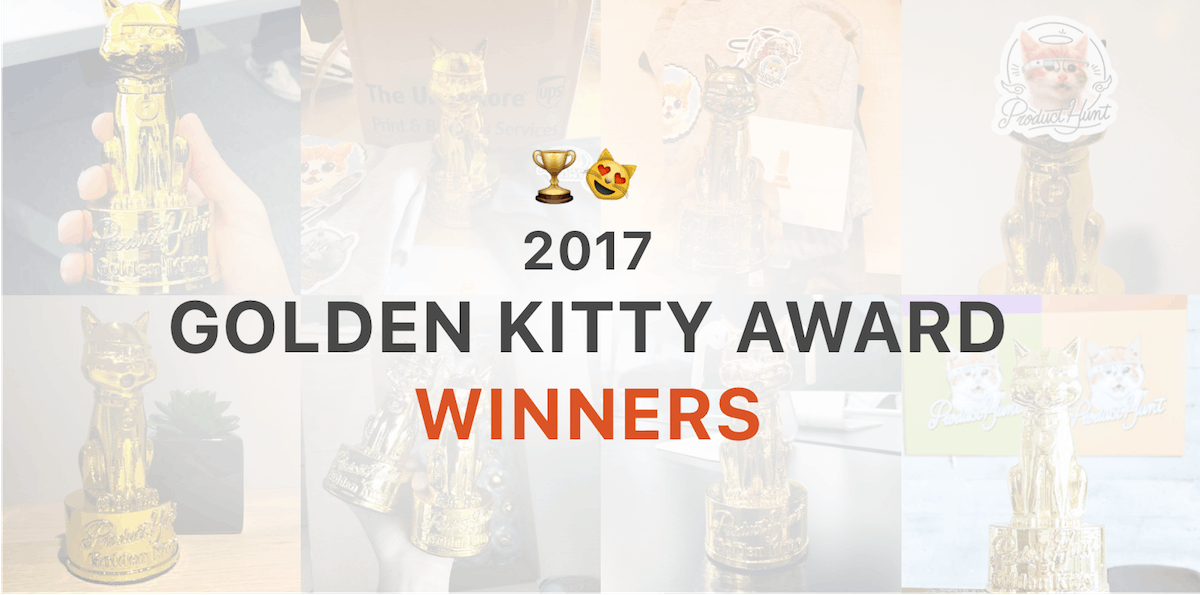 Golden Kitty Winners 🏆