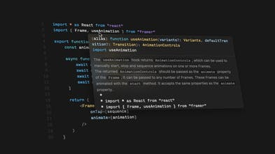 Framer Playground - A new creative coding environment in