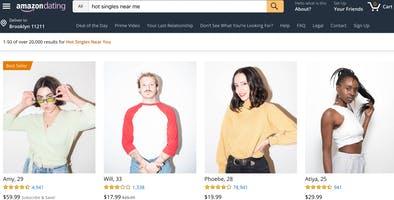 Check out Amazon Dating