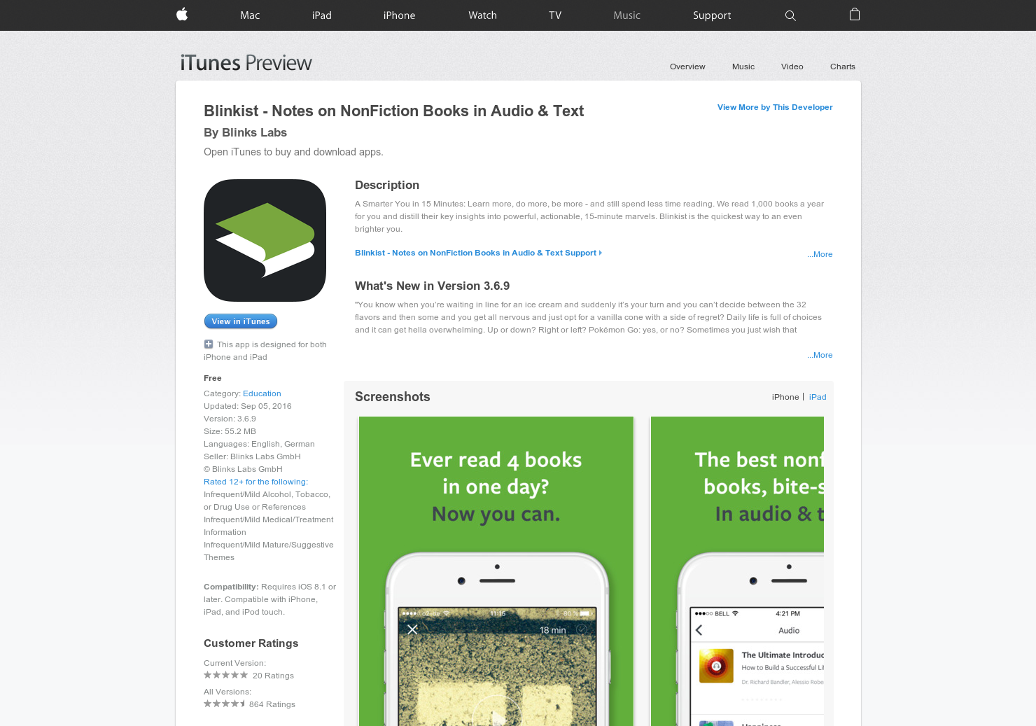 Blinkist for Android - Hacking the way we read books | Product