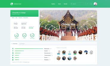 Venture Cost - Track your travel expenses and discover new places to