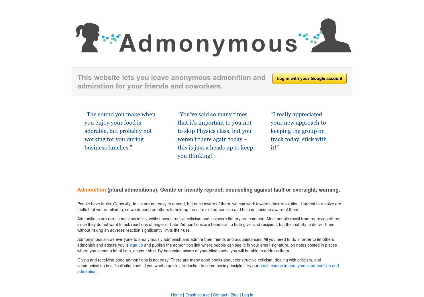 Admonymous - 4Chan Anon + HonestyBox | Product Hunt