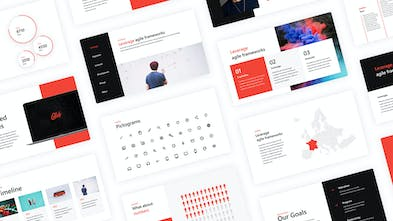 Glide - A collection of over 80 free powerpoint templates