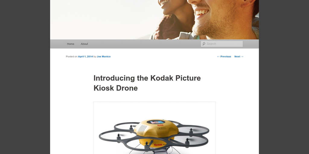 Kodak Alaris - Hands free selfies by a drone | Product Hunt