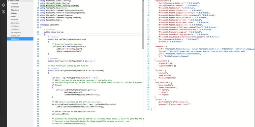 Visual Studio Code - Cross-platform & free robust code editor from
