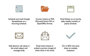 Email Google Spreadsheets - Send Google Sheets via email on