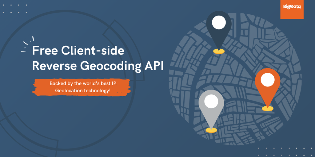 Free Client-side Reverse Geocoding API - A unique reverse geocoding API with IP geolocation fallback | Product Hunt