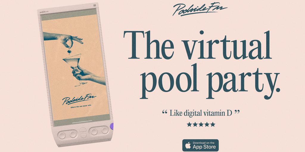 Poolside FM for iPhone Product Hunt Image