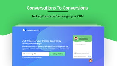 Messengerify - A Chat Widget Powered by Facebook Messenger | Product
