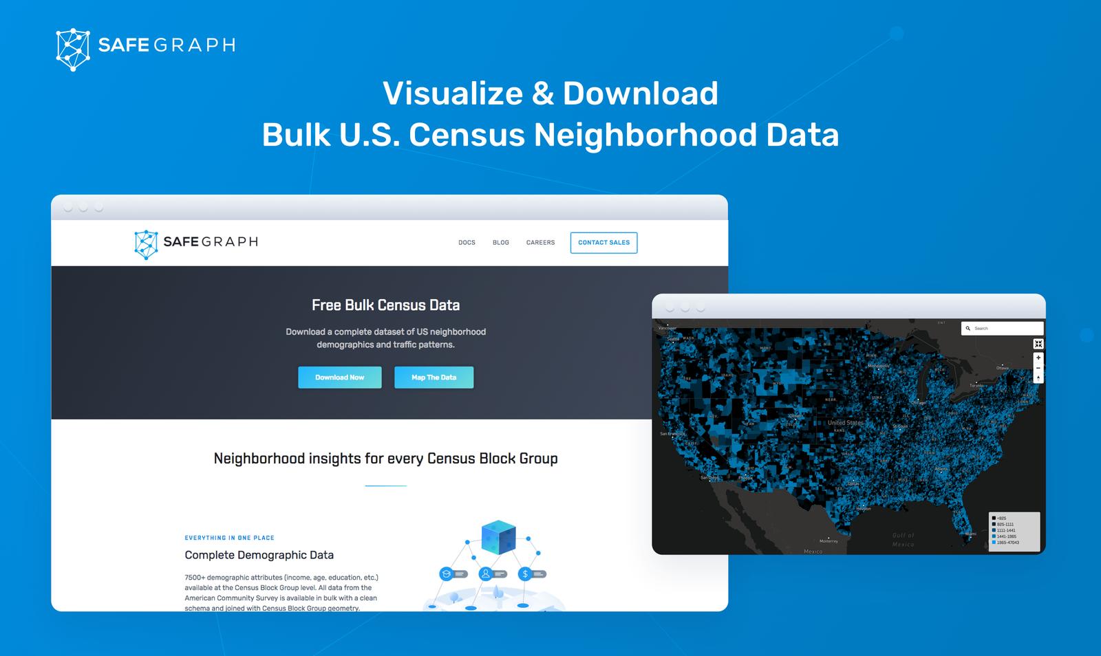 Open Census Data - Visualize & Download Neighborhood Demographic Insights