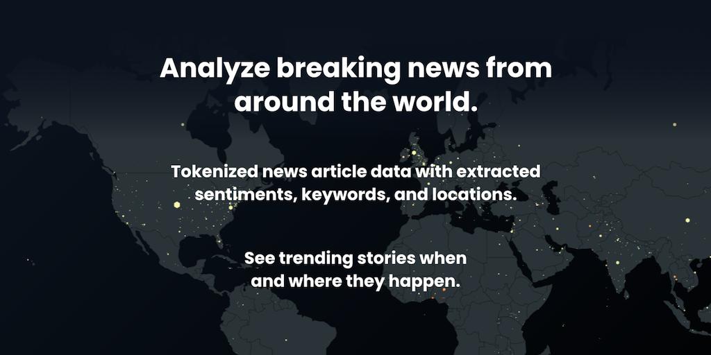 TidalWaves API - Analyze breaking news from around the world | Product Hunt